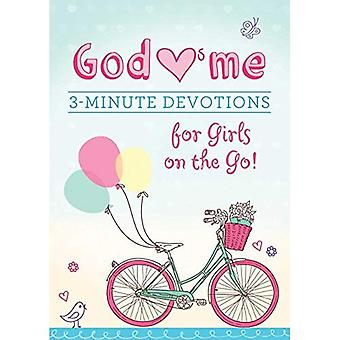 God Hearts Me: 3-Minute Devotions for Girls on the Go!