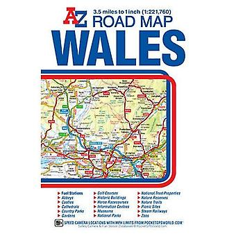 Wales Road Map (A-Z)