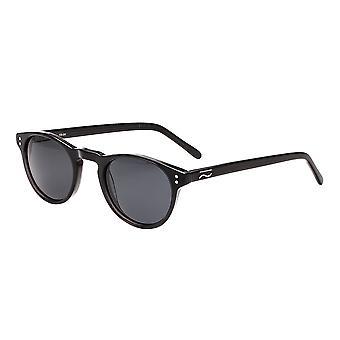 Simplify Russell Polarized Sunglasses - Black/Black