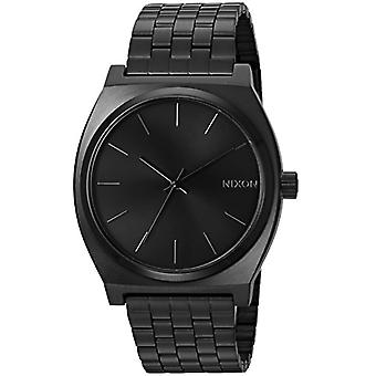 Nixon analog quartz watch with stainless steel band _ A045001-00