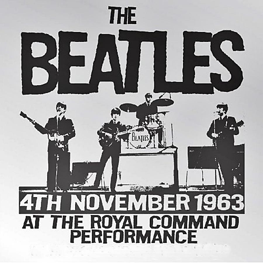Beatles Royal Command Performance 1963 steel fridge magnet (ro)