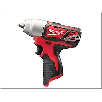 Milwaukee M12 Biw38-0 Sub Compact 3/8in Impact Wrench 12 Volt Bare Unit