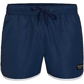 Bjorn Borg Iconic Sandro Athletic Swim Shorts, Insignia Blue