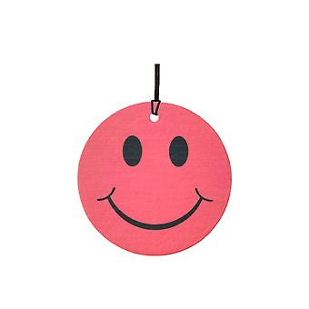 Red Smiley Face Car Air Freshener