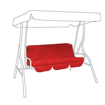 Gardenista® Red Replacement Canopy for 3 Seater Swing Seat