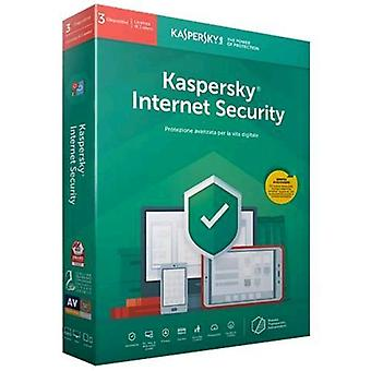 Kaspersky internet security 2019 license for 3 devices for 1 year full version (english)