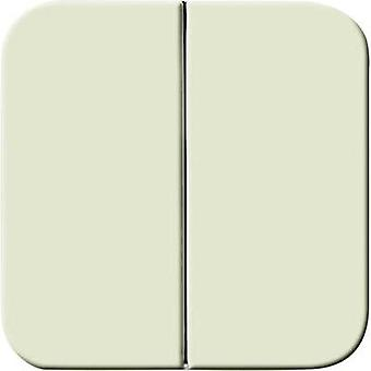 Busch-Jaeger Cover Series switch Duro 2000 SI, Duro 2000 SI Linear Cream-white