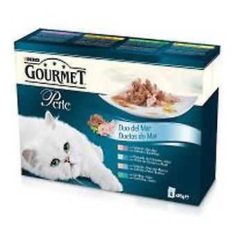 Gourmet Thin Slices Duo Del Mar (Cats , Cat Food , Wet Food)