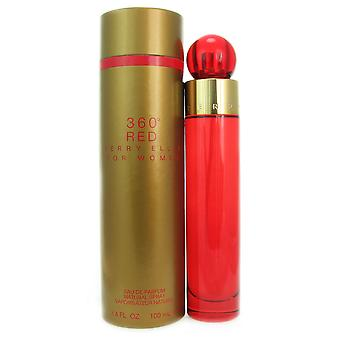 360 femmes rouges par Perry Ellis 3,4 oz EDP Spray