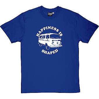 Happiness Is Camper Shaped Men's T-Shirt