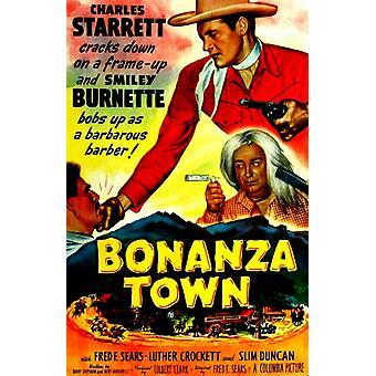 Bonanza by film plakat (11 x 17)