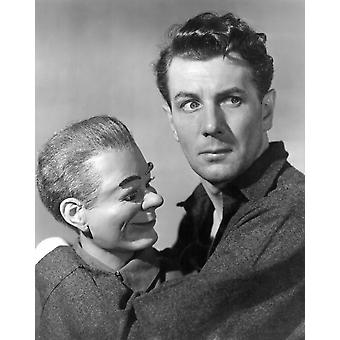Dead Of Night Michael Redgrave Segment The VentriloquistS Dummy 1945 Photo Print