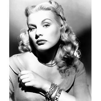 Fångade Barbara Payton 1949 Photo Print