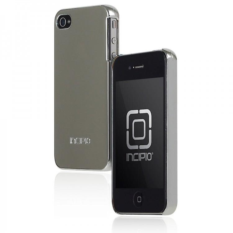 IPH-601 Incipio feather cover case for iPhone 4 / 4S chrome