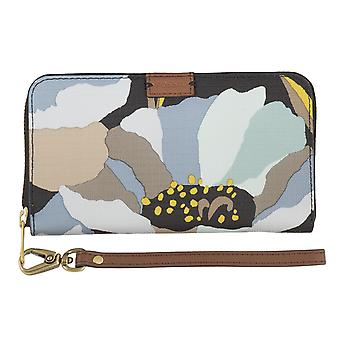 FOSSIL ladies wallet purse coin purse with RFID-chip protection blue 4791