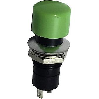 Pushbutton 250 Vac 1.5 A 1 x Off/(On) SCI R13-40A-05 GREEN momentary 1 pc(s)