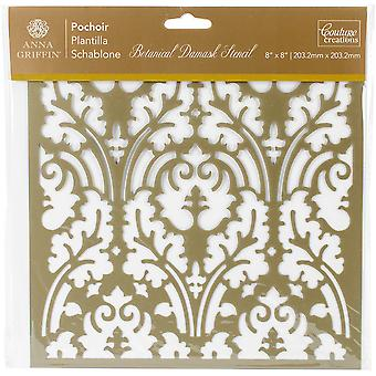 Couture Creations Arabesque Stencil 8