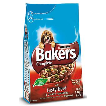 Bakers Complete Adult Beef & Country Veg 2.7kg (Pack of 4)