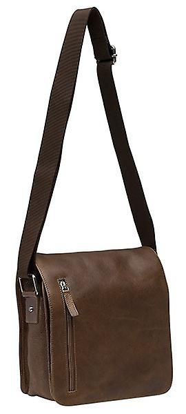 Burgmeister ladies shoulder bag T212-215 leather brown