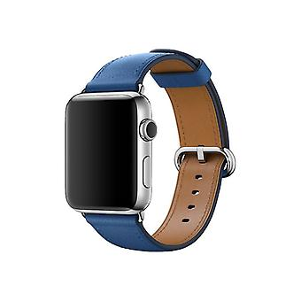 Apple 42 mm klassieke gesp-Klockrem-Ocean Blue-Watch (42 mm)