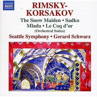 N. Rimskij-Rimskij-Korsakov: Orkestrala sviter [CD] USA import