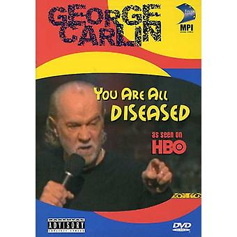 George Carlin - You Are All Diseased [DVD] USA import