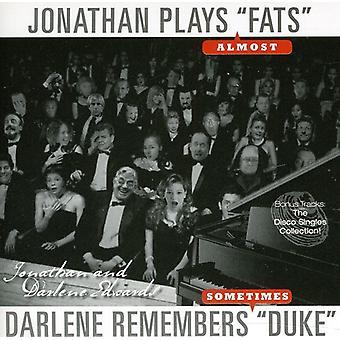 Jonathan Edwards & Darlene - Jonathan spiller 'Fedt' Darlene husker hertug [CD] USA Importer