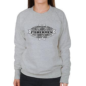 Tallebudgera Creek Fishermen 1869 Black Women's Sweatshirt