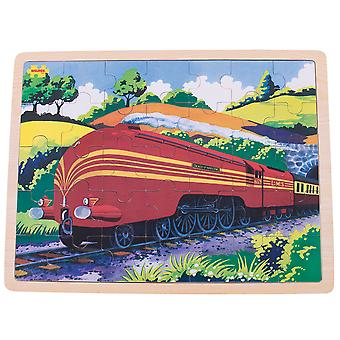 Bigjigs Toys Duchess of Hamilton Wooden Tray Puzzle - 35 Piece Puzzle