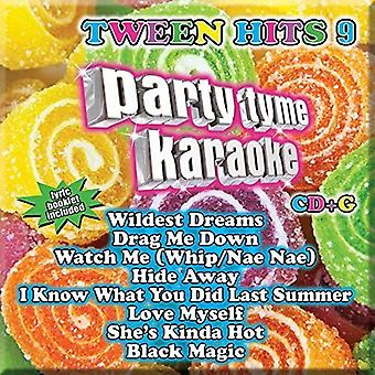 Part Tyme Karaoke - Ptk-Tween Hits 9 [CD] USA import