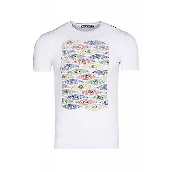 RUSTY NEAL pearls II shirt men's T-Shirt white with cool print