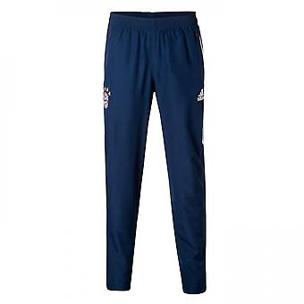 2017-2018 Bayern Munich Adidas Woven Pants (Navy) - Kids