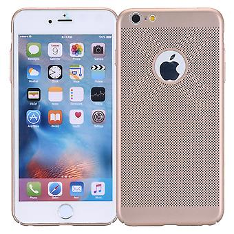 Cell phone case för Apple iPhone 6 / 6s ärm case väska cover case guld