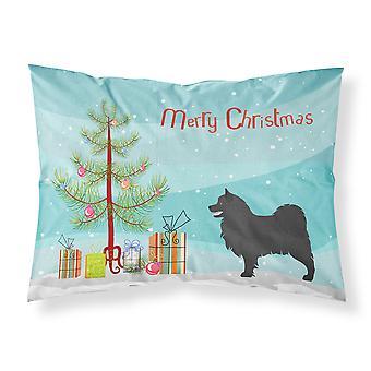 Taie d'oreiller Standard du tissu suédois Lapphund Noël