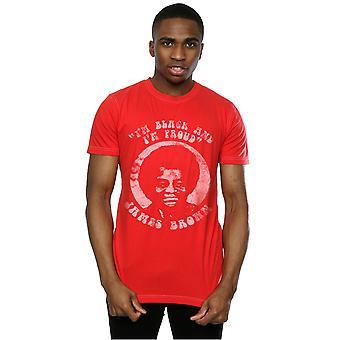 Aftershow mænds James brun sort og stolt T-Shirt