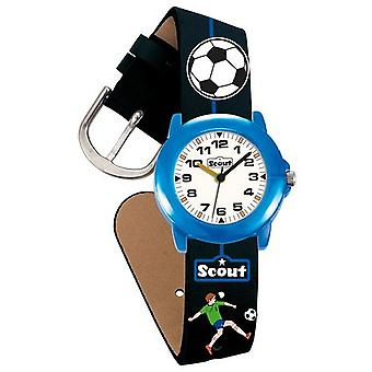 Scout montre enfant apprentissage des garçons de football Crystal Watch 280305000