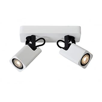 Lucide ROAX Spot LED 2xGU10/5W Incl Dimmable 320LM