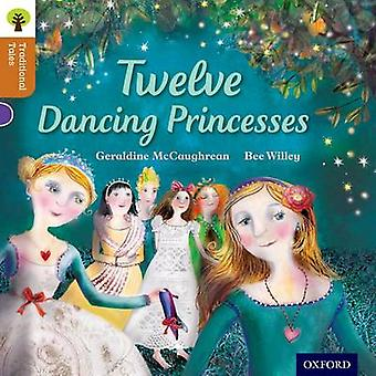 Oxford lezing boom traditionele Tales niveau 8 twaalf dansen prinsessen door Geraldine McCaughrean & Bee Willey & Nikki Gamble & Pam Dowson