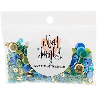 Neat & Tangled Sequin Mix-Peacock Feather NAT238