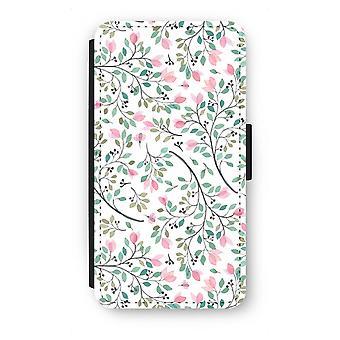 Samsung Galaxy A5 (2015) Flip Case - zierliche Blumen