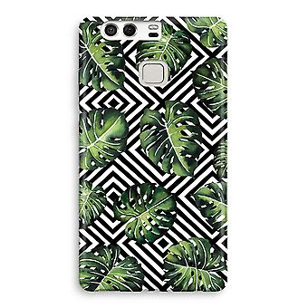 Huawei P9 Full Print Case - Geometric jungle