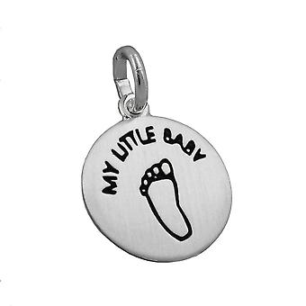 Pendant engraved - my little baby - silver 925