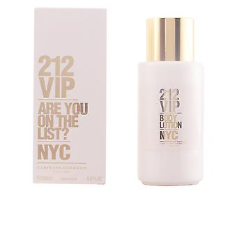 Carolina Herrera 212 Vip Body Lotion 200ml nieuwe Womens parfum geur verzegeld Boxed