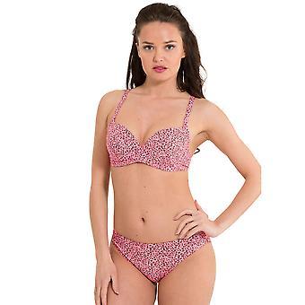 LingaDore 2917B-155 Women's Festival Pink Animal Print Swimwear Beachwear Bikini Bottom