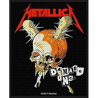 Metallica Patch Damage Inc Band Logo new Official woven sew on