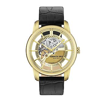 Kenneth Cole New York homme montre montre-bracelet en cuir KC15116002 automatique