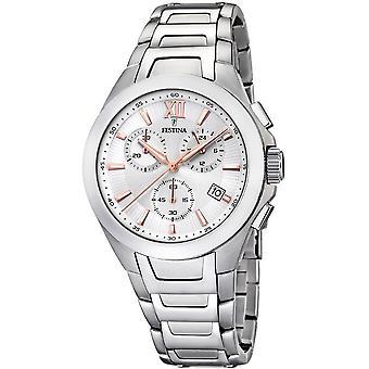 Festina mens watch sports chronograph F16678/a