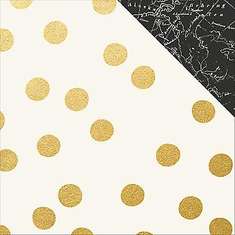 Beautiful Gold Foiled Double-Sided Cardstock 12