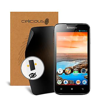 Celicious Privacy 2-Way Visual Black Out Screen Protector for Lenovo A690