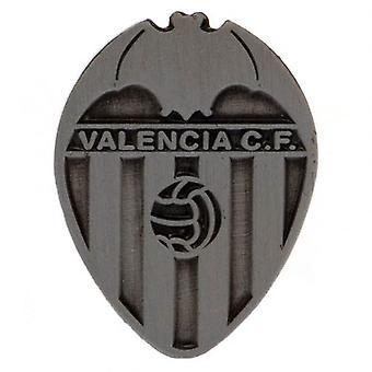 Valencia C.F. Badge antik sølv